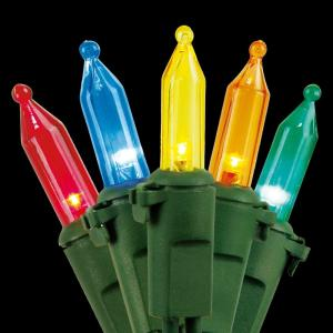 Home Accents Holiday 100-Light LED Multi-Color Mini Light Set by Home Accents Holiday