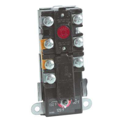 Water Heater Upper Thermostat Thermo-Disc Style