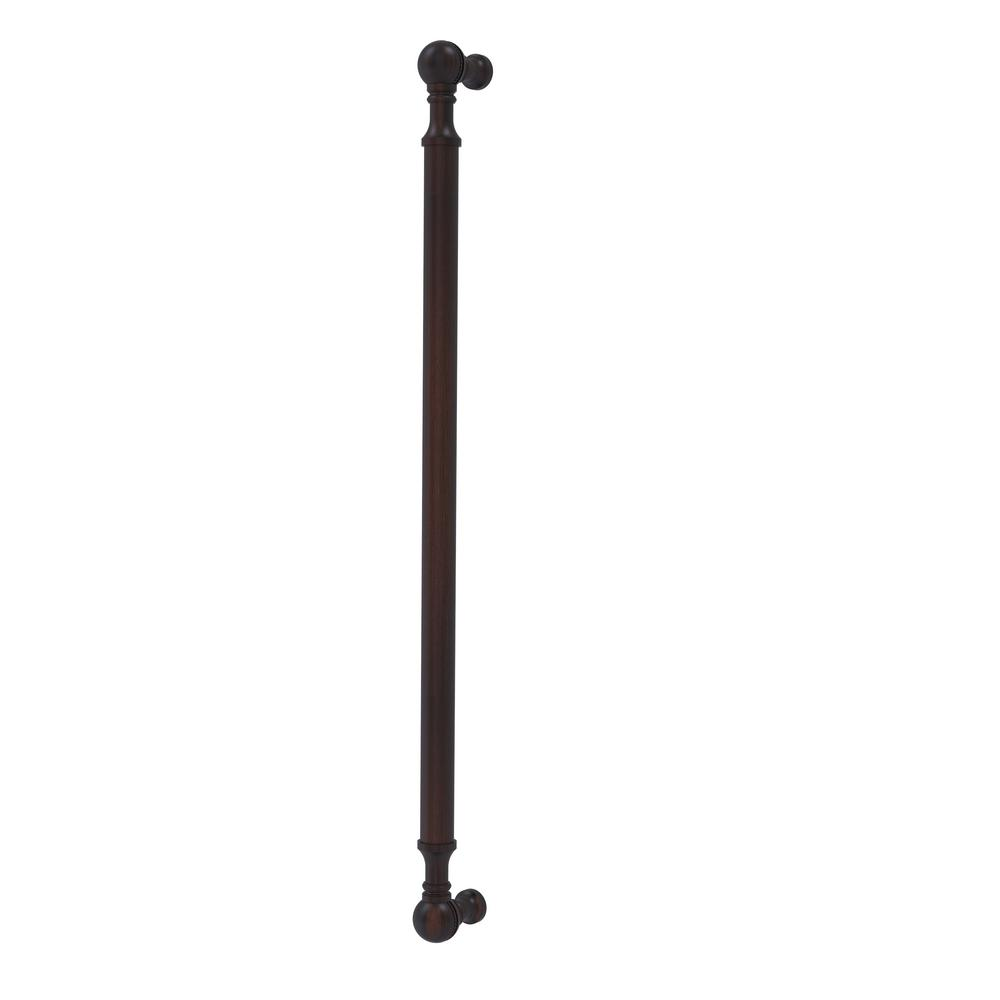 18 in. Beaded Refrigerator Pull in Venetian Bronze
