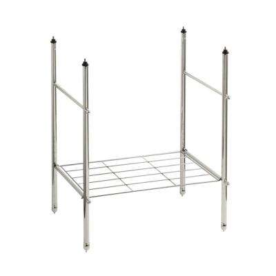 Memoirs Console Table Legs in Vibrant Polished Nickel
