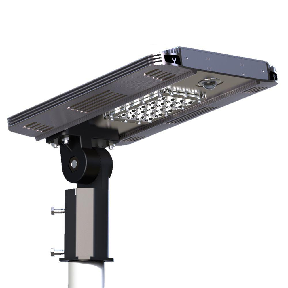 eleding solar power smart led street light for commercial and residential parking lots bike paths