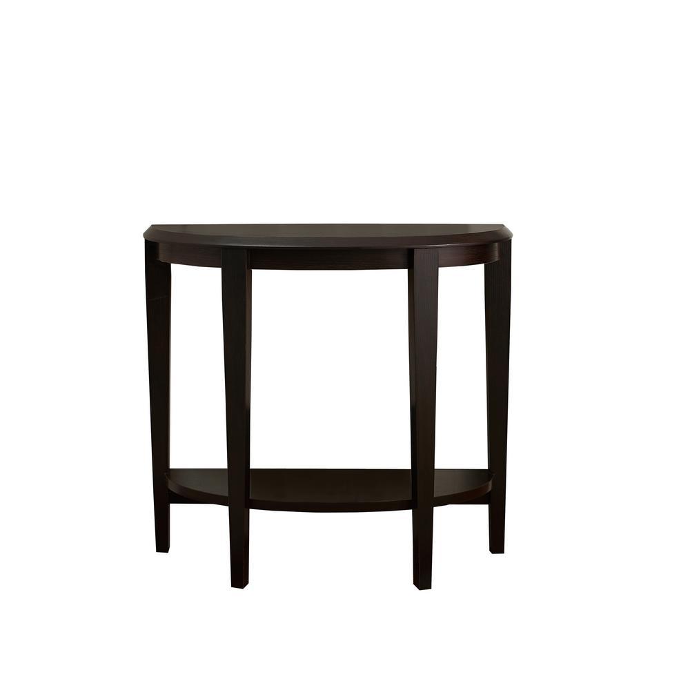 Cappuccino Console Table