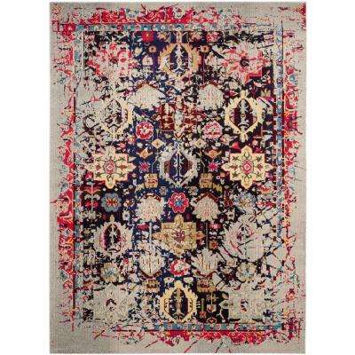 Monaco Grey Multi 11 Ft X 15 Area Rug