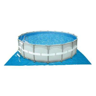 16 ft. x 48 in. Ultra Frame Pool Set with 1,200 Gal. Sand Filter Pump