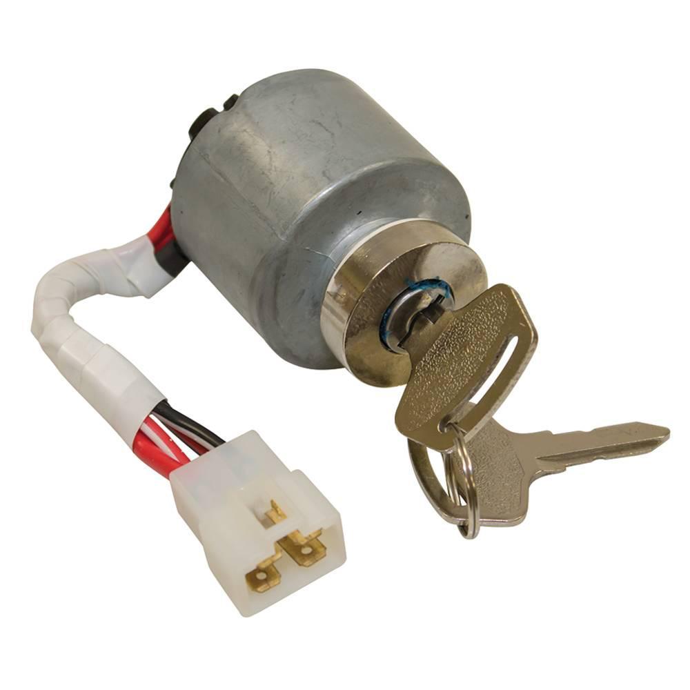 Ignition Key Switch Kubota G1800 G2000 BX2200 ZD28 BX1830 G1900 G1700 BX23 TG1860 BX2230 ZD18 G2460 BX22 BX1500 ZD21 66101-55202
