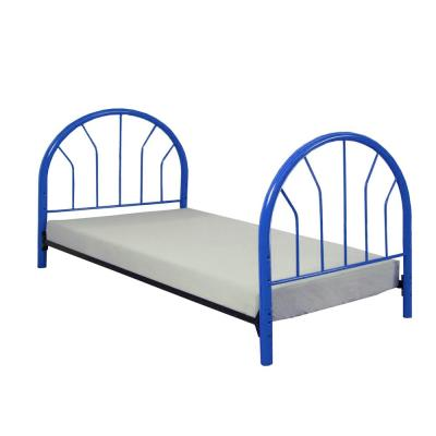 Amelia Blue 39 in. L x 2.5 in. W x 42 in. H Twin Footboard Only