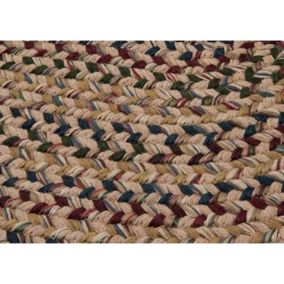 Winchester Oatmeal 11 ft. x 14 ft. Oval Moroccan Area Rug