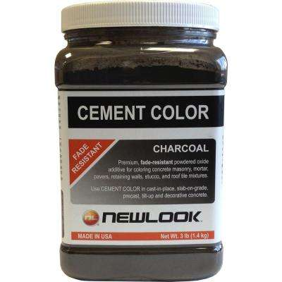 3 lb. Charcoal Fade Resistant Cement Color