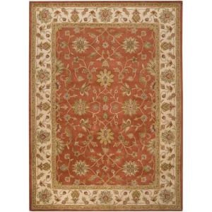 Artistic Weavers Franklin Terracotta 12 Ft X 15 Area Rug Val 6002 The Home Depot