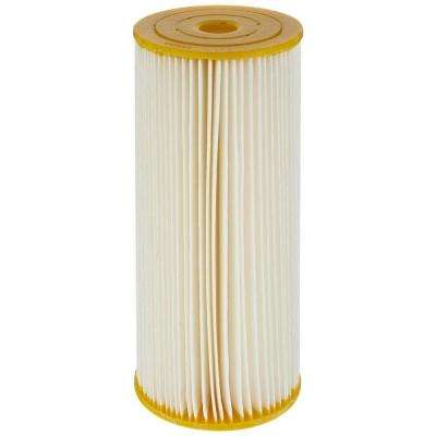 ECP50-BB 10 in. x 4-1/2 in. Pleated Sediment Water Filter