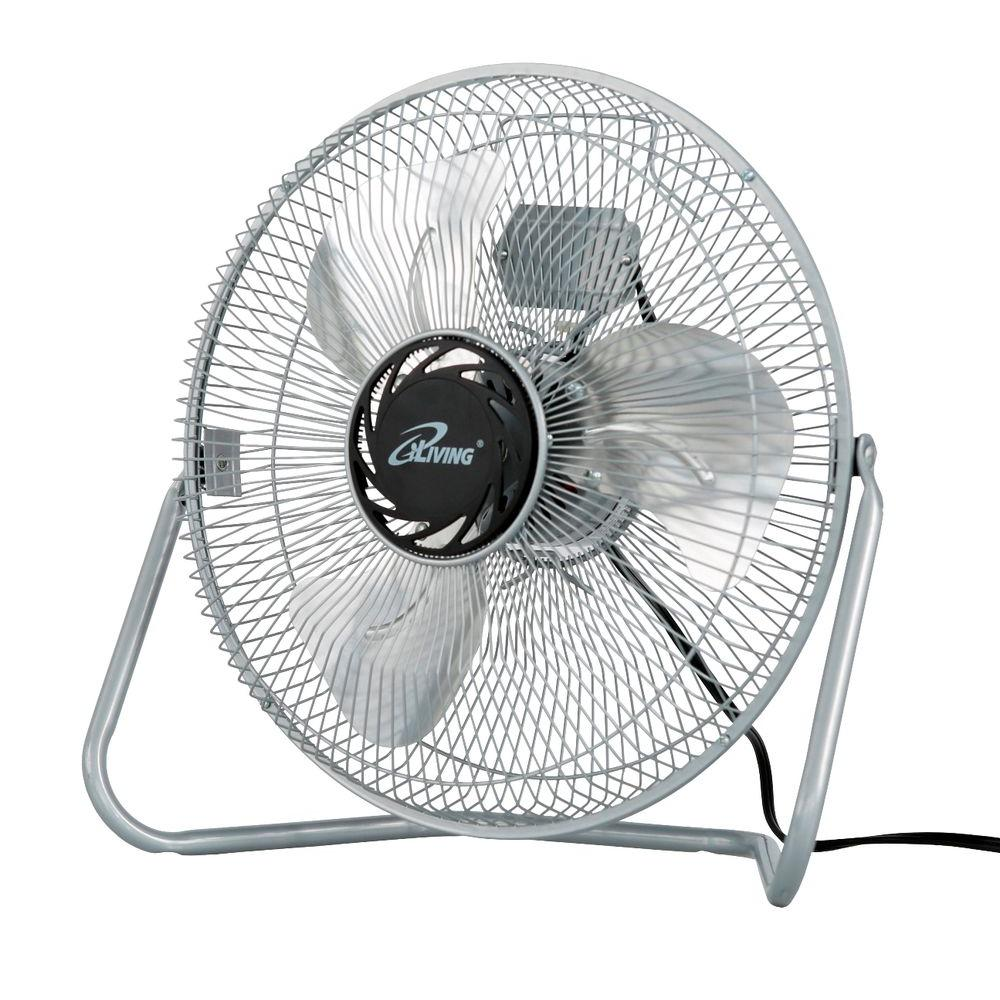 "16/""//20/"" High Velocity 3-Speed Floor Fan Tilt Air Mover Stand Portable Industrial"