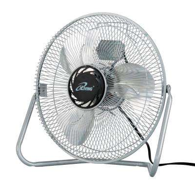 12 in. 3 Speed High Velocity Floor Fan
