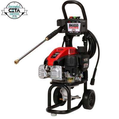 Clean Machine by SIMPSON CM60912 2400 PSI at 2.0 GPM Gas Pressure Washer Powered by SIMPSON