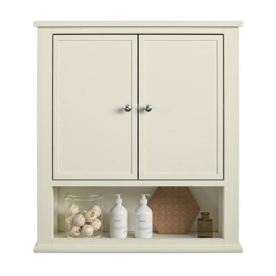 Queensbury 22 in. W Wall Cabinet in Soft White