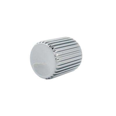 Calvini 1 in. Polished Chrome Cabinet Knob
