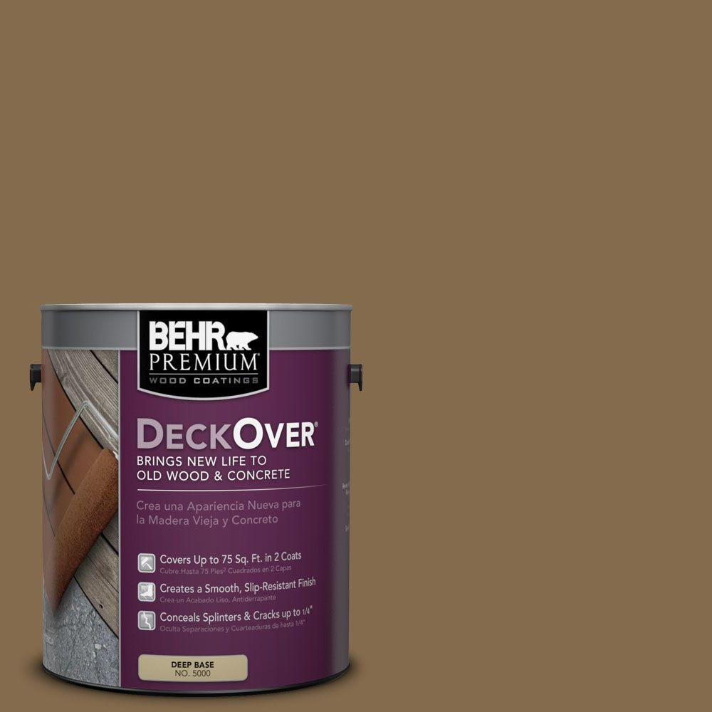 BEHR Premium DeckOver 1 gal. #SC-147 Castle Gray Wood and Concrete Coating