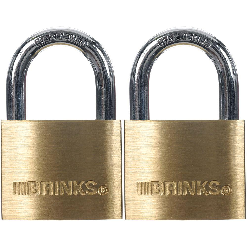 40 mm Brass Keyed Lock (2-Pack)