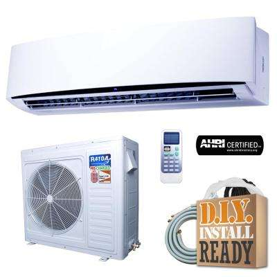 Super Efficiency GWi Series 33,000 BTU 2.75 Ton Inverter Ductless Mini Split Air Conditioner and Heat Pump - 230V/60Hz