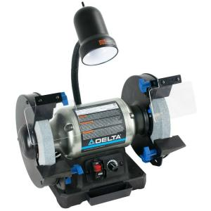 Click here to buy Delta 8 inch Variable Speed Bench Grinder by Delta.