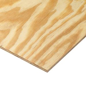 11/32 in. x 4 ft. x 8 ft. Rtd Southern Yellow Pine Plywood Sheathing