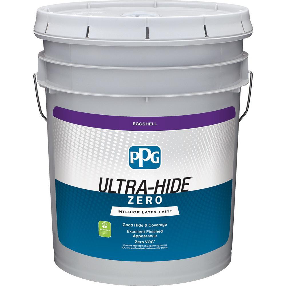 PPG 5 gal  #HDPV55U Ultra-Hide Zero Soft Violet Eggshell Interior Paint