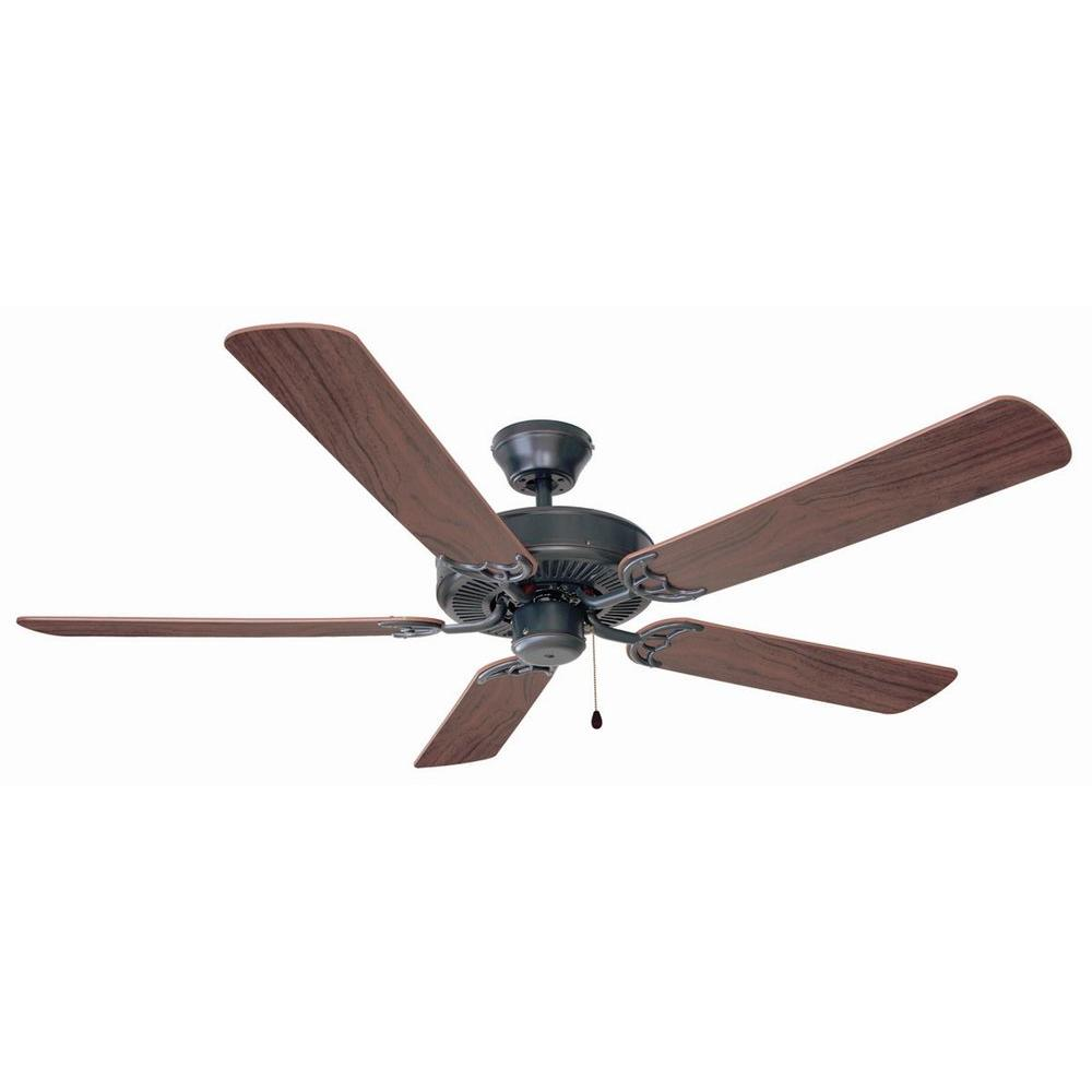 Design House Millbridge 52 In Oil Rubbed Bronze Ceiling Fan With No Light Kit 154153 The Home