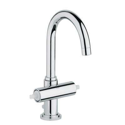 Atrio Single Hole 2-Handle High-Arc Bathroom Faucet in StarLight Chrome