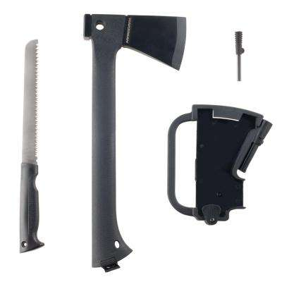 2 lbs. Multi-Functioning Camping Axe with 5 in. Plastic Coated Handle