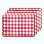 Buffalo Check Red Reversible Placemat (Set of 4)