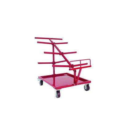 Electrical Large-Spool Cable and Wire Service Tool Cart
