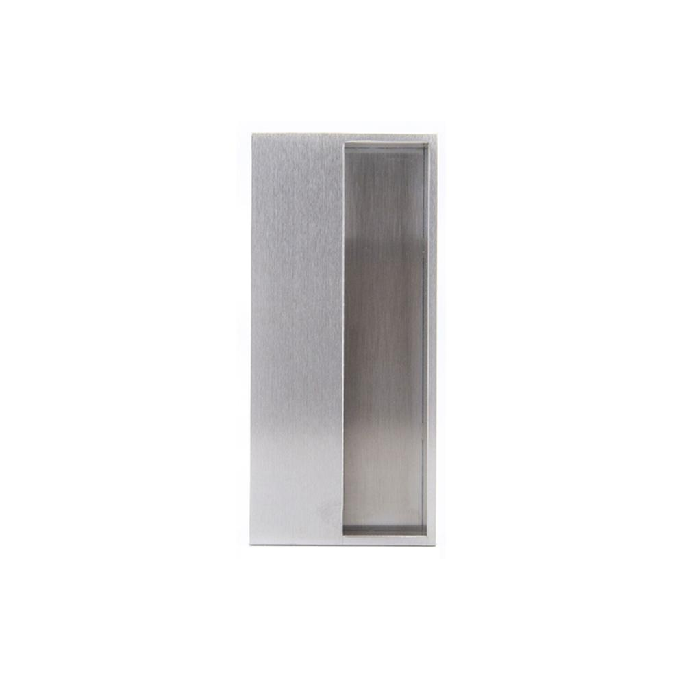 Jako Architectural Hardware W 4251 1 15 16 In Stainless Steel Pocket Door Flush Pull