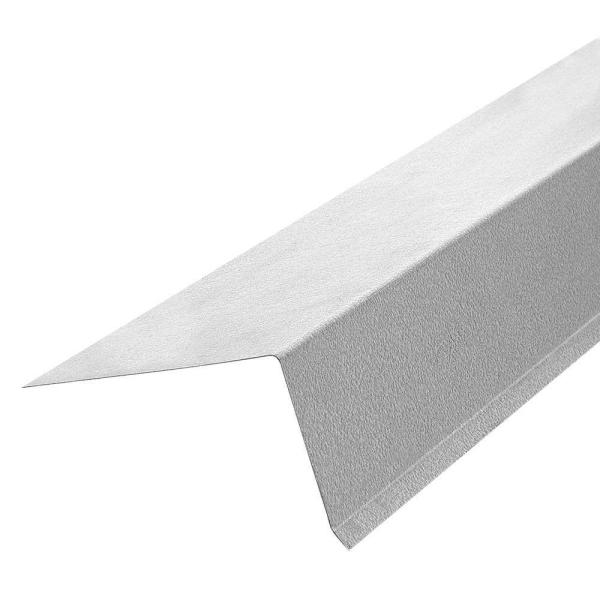 Gibraltar Building Products 3 In X 2 3 4 In X 10 Ft 26 Gauge Galvanized Steel Drip Edge Flashing 07510 The Home Depot