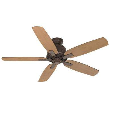 Areto 54 in. Indoor Industrial Rust Ceiling Fan