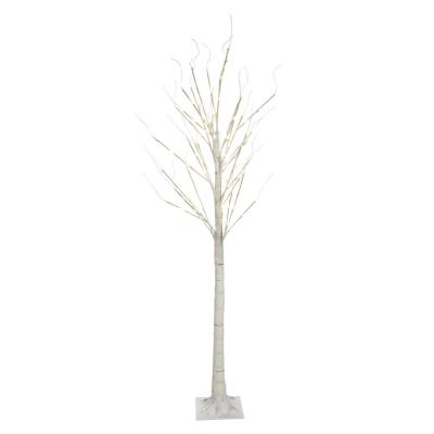 7 ft. 120 LED Birch Tree with 8-Lighting Functions