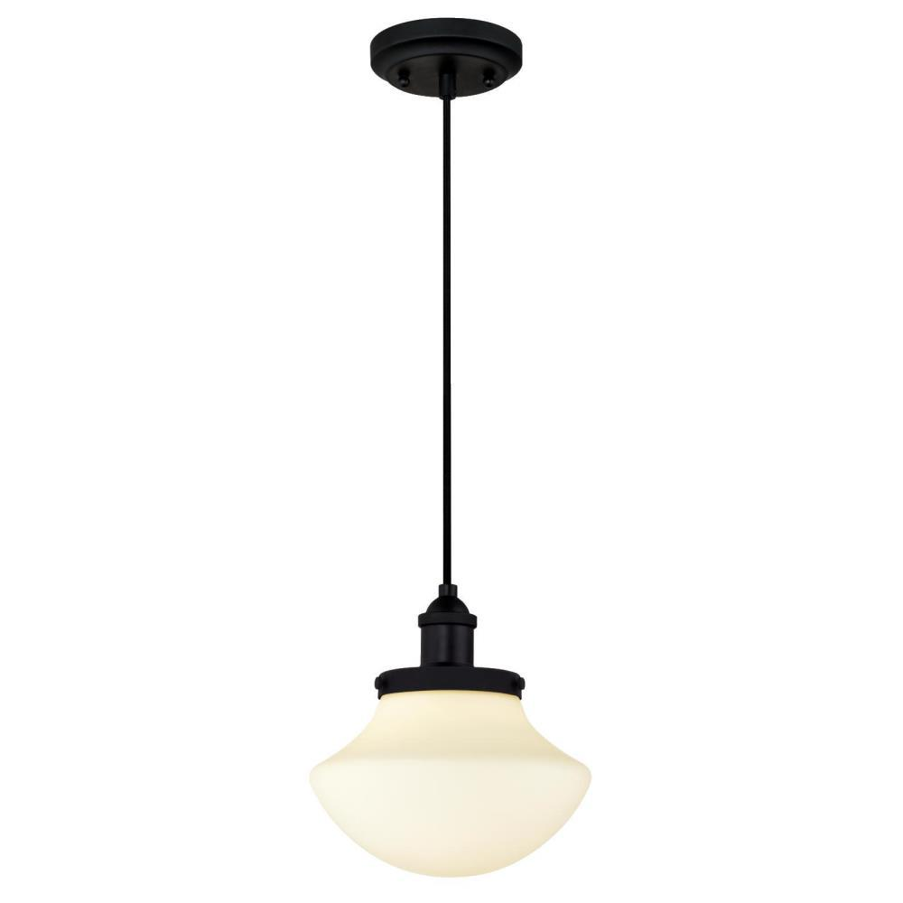 Light Matte Black Mini Pendant