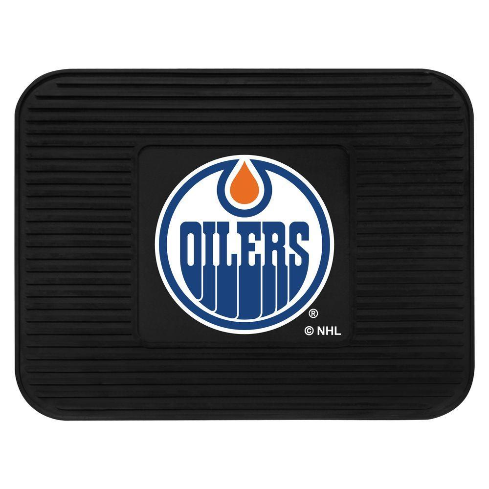FANMATS NHL Edmonton Oilers Vinyl 2-Pack Utility Mats