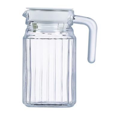 Quadro Jug 16.75 oz. withWhite Lid (Set of 1)