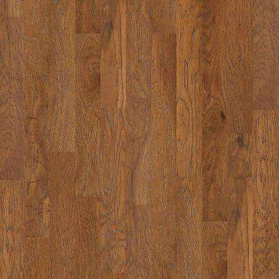 Take Home Sample - Riveria Weathered Hickory Click Engineered Hardwood Flooring - 5 in. x 8 in.
