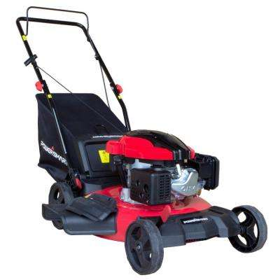 21 in. 3-in-1 161cc Gas Walk Behind Push Mower