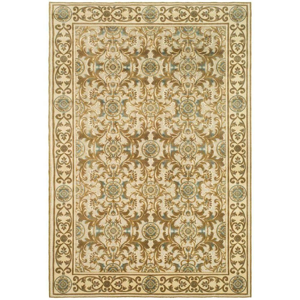Paradise Ivory 4 ft. x 5 ft. 7 in. Area Rug