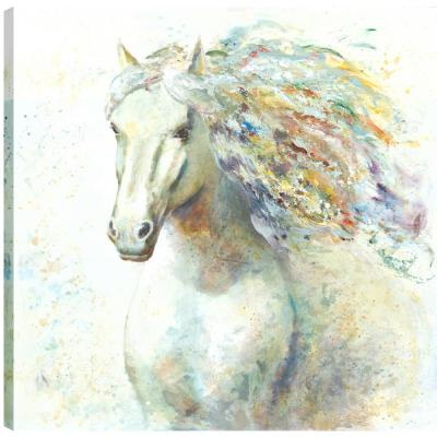 Horse Love III, Animal Art, Fresh Printed Canvas Wall Art Decor Gallery Wrapped Wall Art