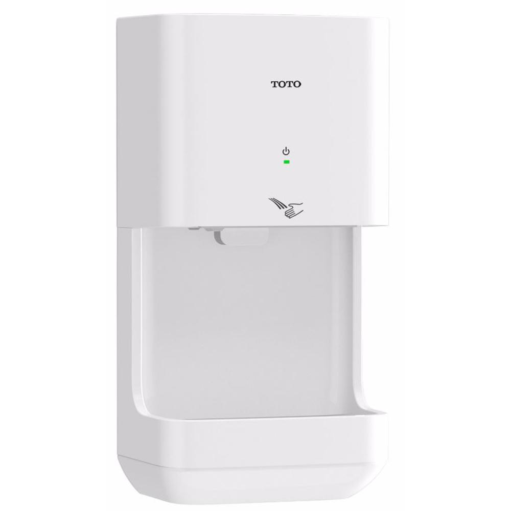 Toto cleandry electric high speed touchless hand dryer in for Bathroom hand dryers electric