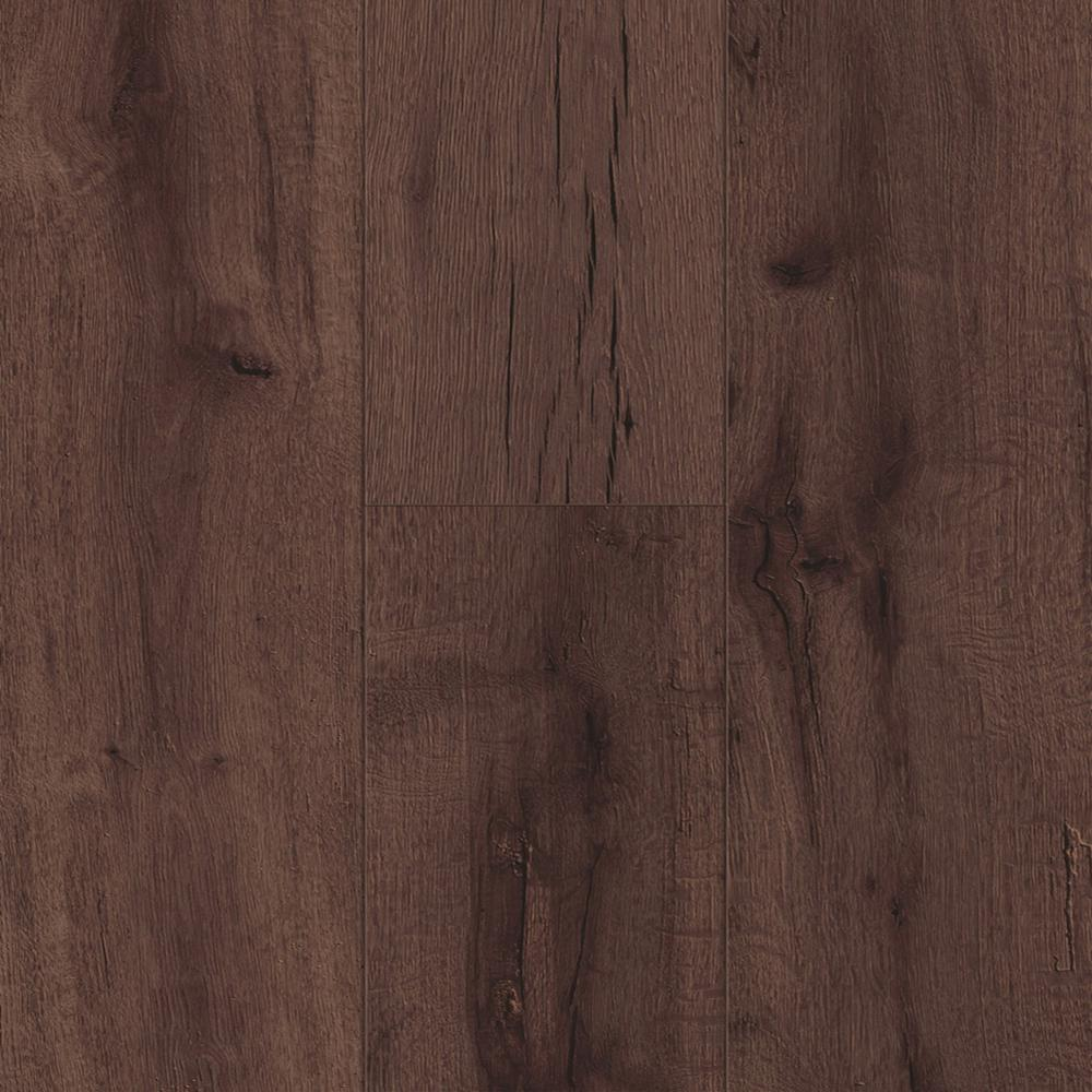 Trafficmaster Laminate Wood Flooring The Modern Glueless Benson Oak