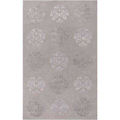 Hyrum Light Gray 9 ft. x 13 ft. Area Rug
