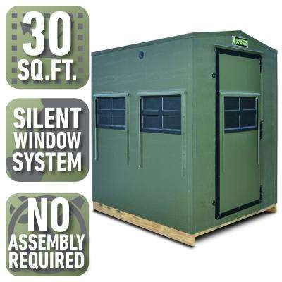 5 ft  x 6 ft  Insulated Gun and Crossbow Hunting Blind (Pre-Assembled)