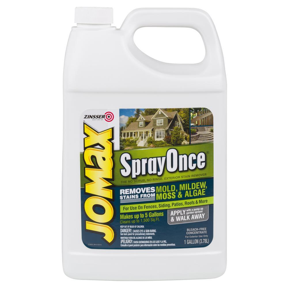 Zinsser 1 gal. Jomax Spray Once (Case of 2)