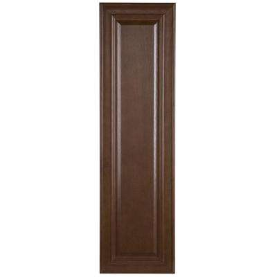 11.77x42.01x0.79 in. Decorative Wall End Panel in Butterscotch
