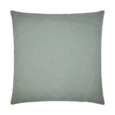 Siren Spa Feather Down 24 in. x 24 in. Standard Decorative Throw Pillow