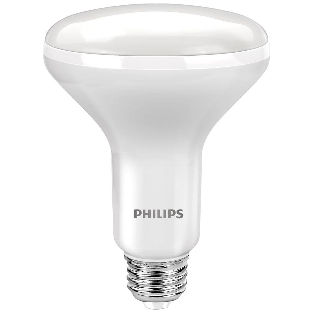 Philips 65w equivalent daylight br30 dimmable led flood light bulb philips 65w equivalent daylight br30 dimmable led flood light bulb 3 pack 464180 the home depot aloadofball Choice Image