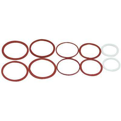 Assorted Cap Thread Gaskets for Faucet Stems (10-Pack)